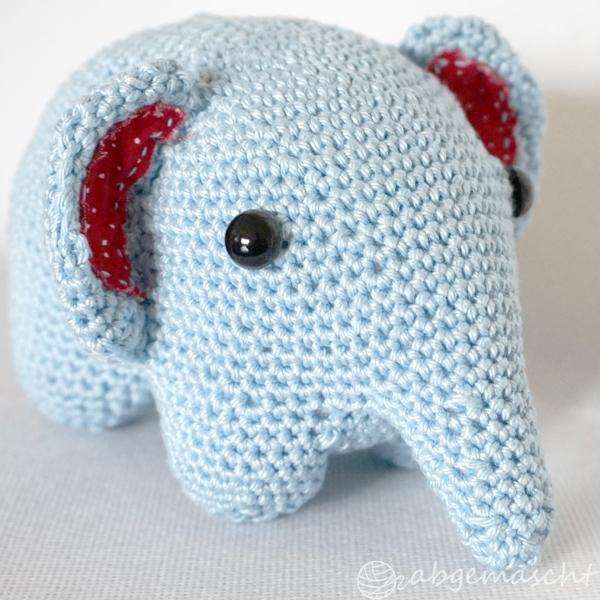Elefant gehäkelt - abgemascht.de