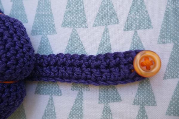 Armband für das Nadelkissen - abgemascht amigurumi