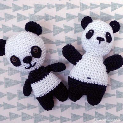 Gehäkelte Pandas