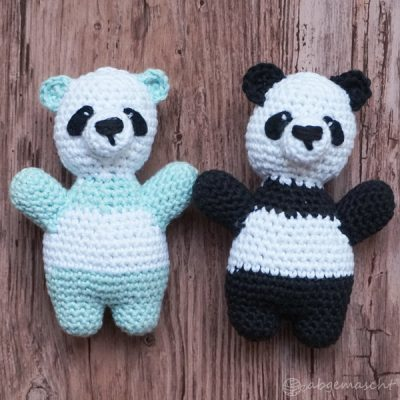 Pandas häkeln für einen guten Zweck (Anleitung)