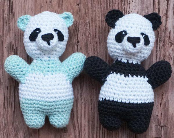 Weltmeister mit den Häkelhelden - Panda häkeln