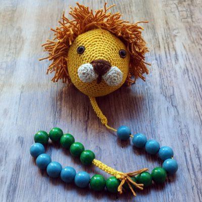 Rechenhilfe häkeln, Löwe häkeln für Einschulung, Amigurumi Blog