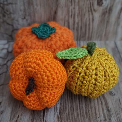 Herbst & Halloween: Kürbis häkeln (Anleitung)