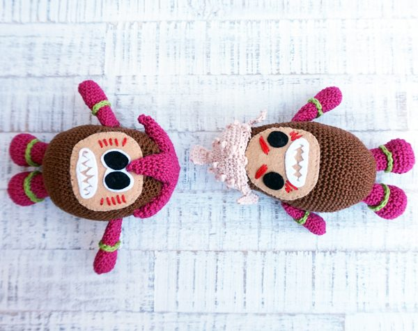 gehäkelte kokomora vaiana crochet kakamora moana