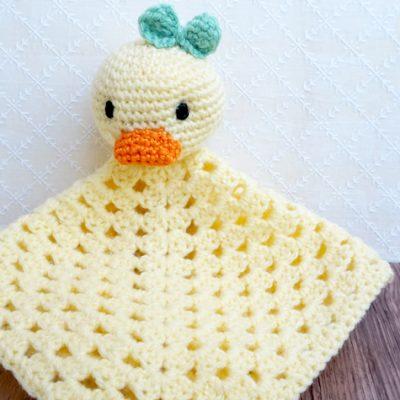 Schnuffeltuch-Ente häkeln (mit Anleitung)
