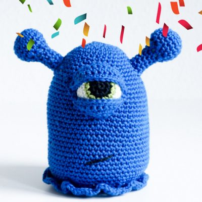 Bob, das blaue Monster | Etsy-Shop Eröffnung