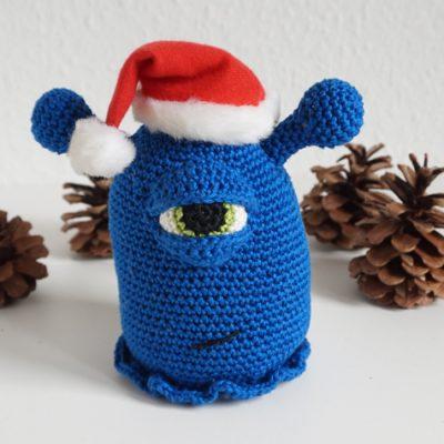 Bob Häkelmonster Amigurumi häkeln crochet abgemascht